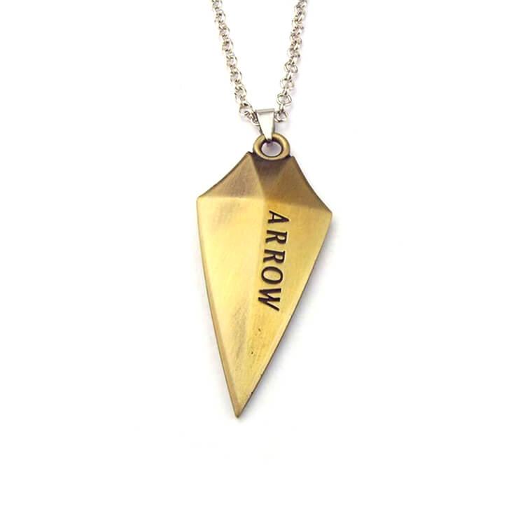green-arrow-logo-necklace