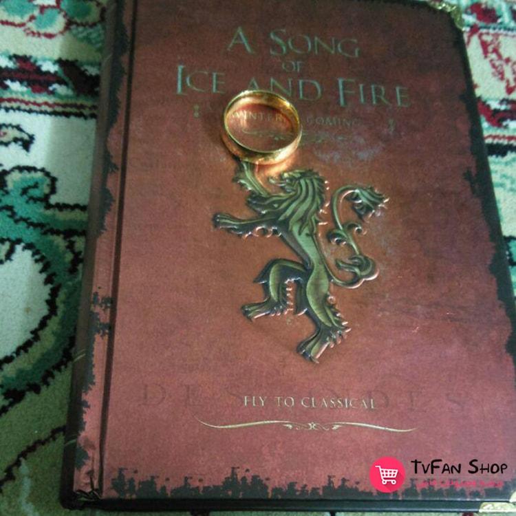 دفترچه خاطرات بازی تاج و تخت - حلقه ارباب حلقهها