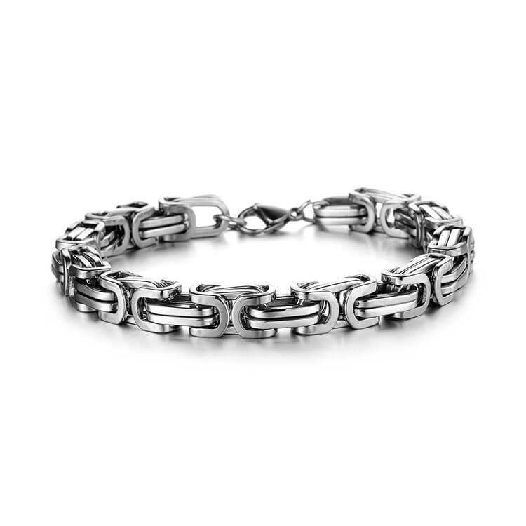 Stainless Steel Bracelet_Silver
