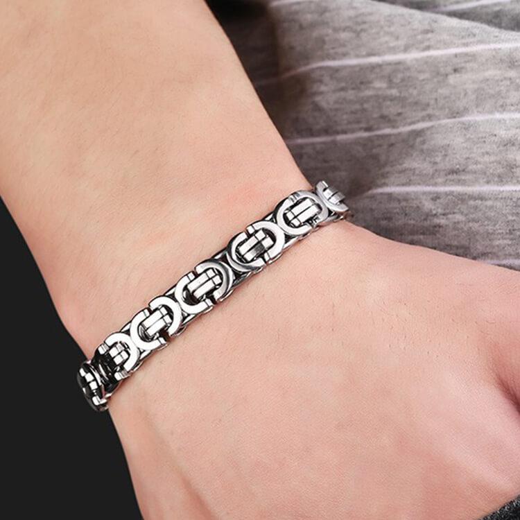 Stainless Steel Bracelet_Silver_2
