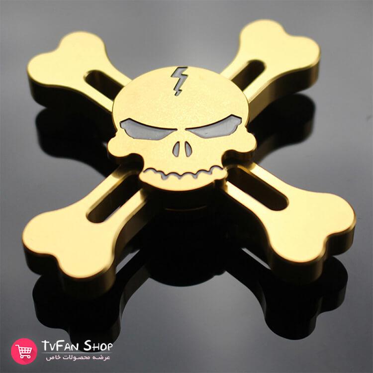 Skull Alloy Hand Spinner_5