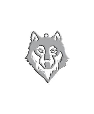 گردنبند طرح گرگ Wolf