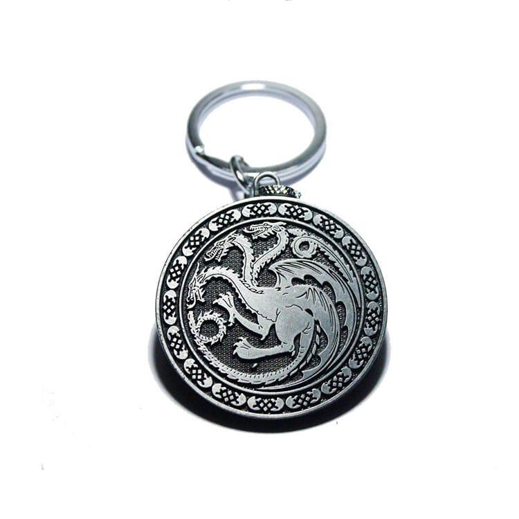 House Targaryen KeyChain-min