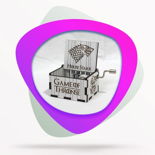 TvFan's House Stark Music Box-min