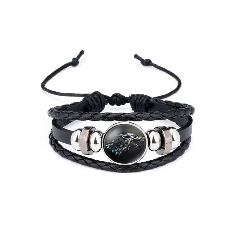 Game of Thrones Leather Bracelet-min