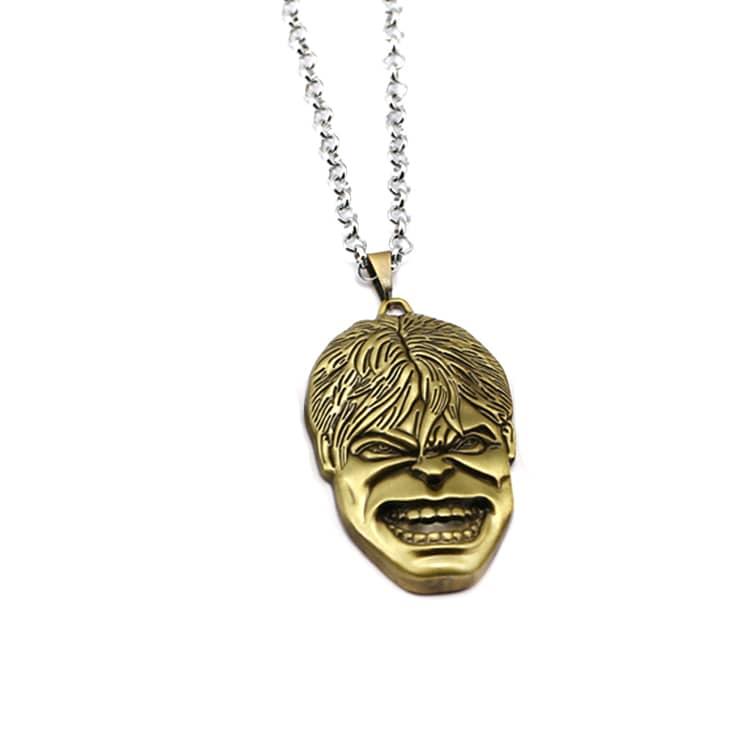 Hulk's Face Necklace-min