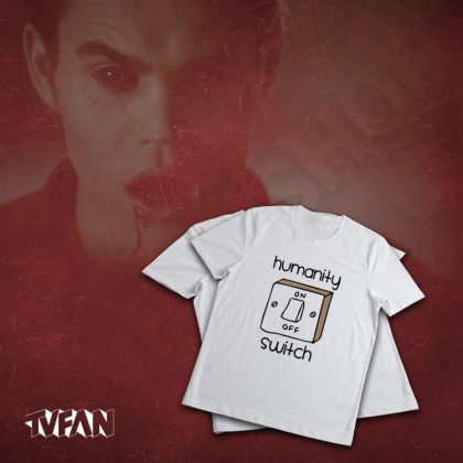 تیشرت سریال The Vampire Diaries طرح کلید انسانیت