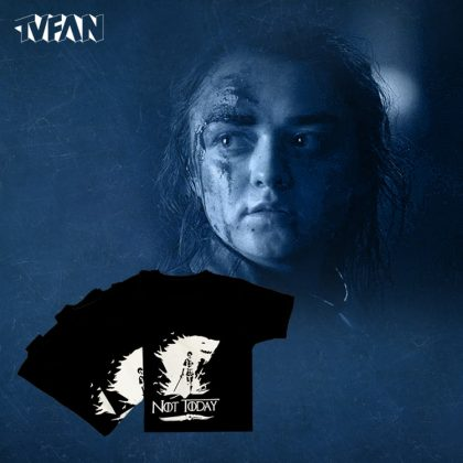 تیشرت بازی تاج و تخت طرح استارک (آریا استارک Game of Thrones)